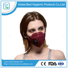 Various color choose fashion design high efficient filter pollution mask