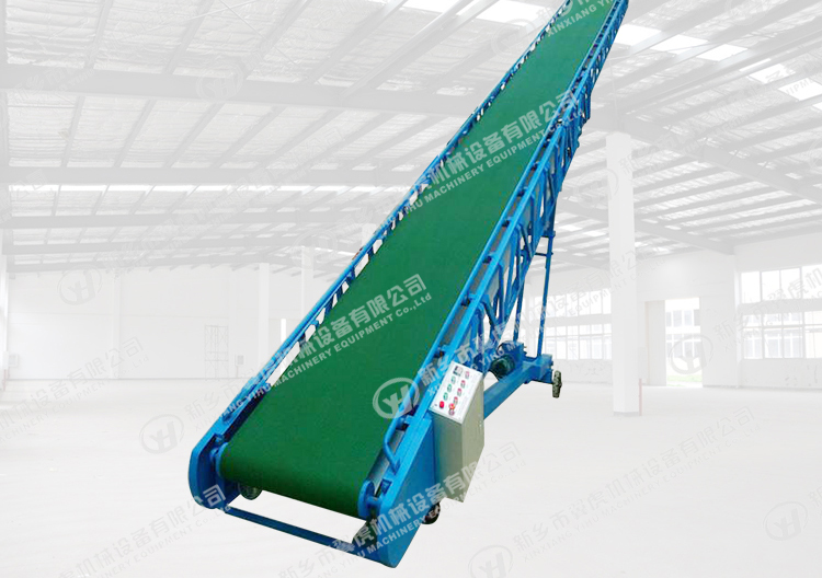 Hot-Selling Gandum Mesin Belt Conveyor