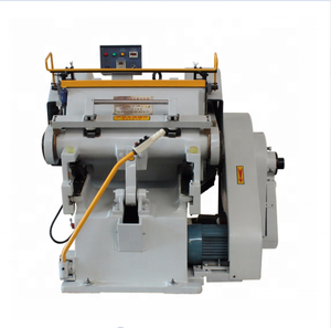 ZHML 1100 Paper Die Cut Punch Machine Used For Making Corrugated Carton