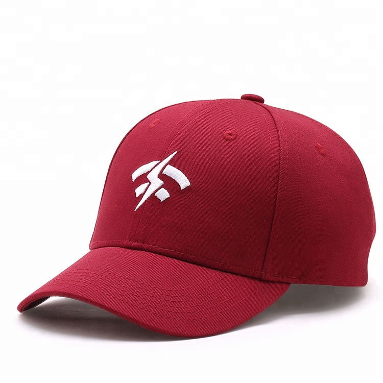 Trending cotton red flat embroidery spring women's golf <strong>custom</strong> fitted hats