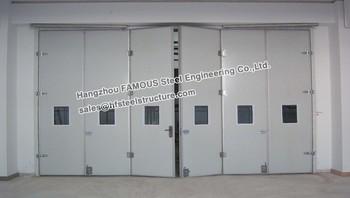 Sectional Folding Door Used In Steel Garage And Workshop - Buy ...