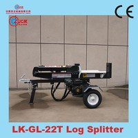 22Ton log splitter for sale hydraulic log splitter with Dajiang engine