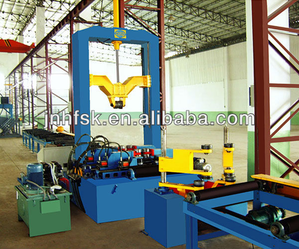 Hot Sale H beam Welding Production Line Manufacture