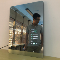 Magic Smart Tv Led Bluetooth Bathroom Mirror With Wifi