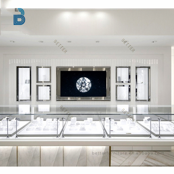 High End Pandora Jewelry Furniture Display Showcase For Jewelry