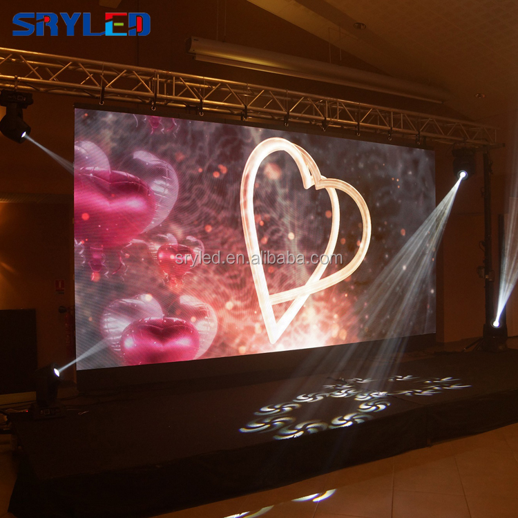 The most popular indoor p3.91 hd small rental led display