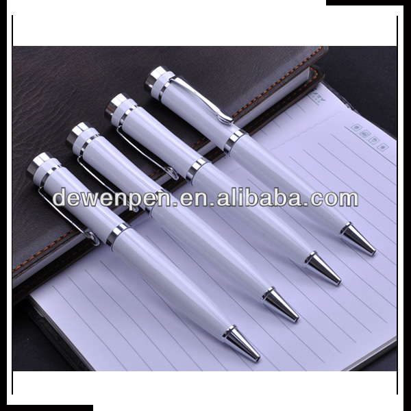 White color logo can print heavy metal pen