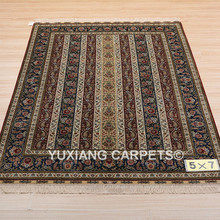 yuxiang christmas decorations 5x7 ft 5 star hotel carpet turkish design hand knotted afghan rugs