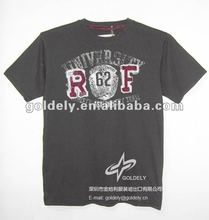 100 combed cotton cheaper promotional t shirt for men