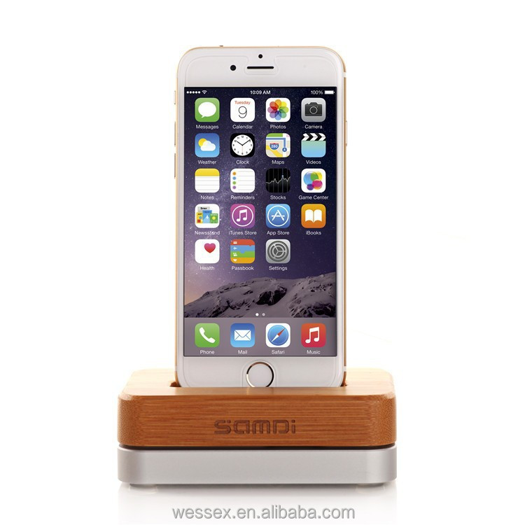 New design wooden mobile phone charge holder/phone charge stand