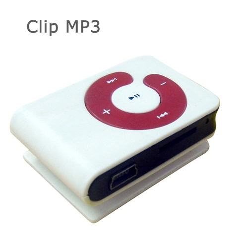 Fashion and Personalized Mini Clip MP3 Player Support 32GB TF Card