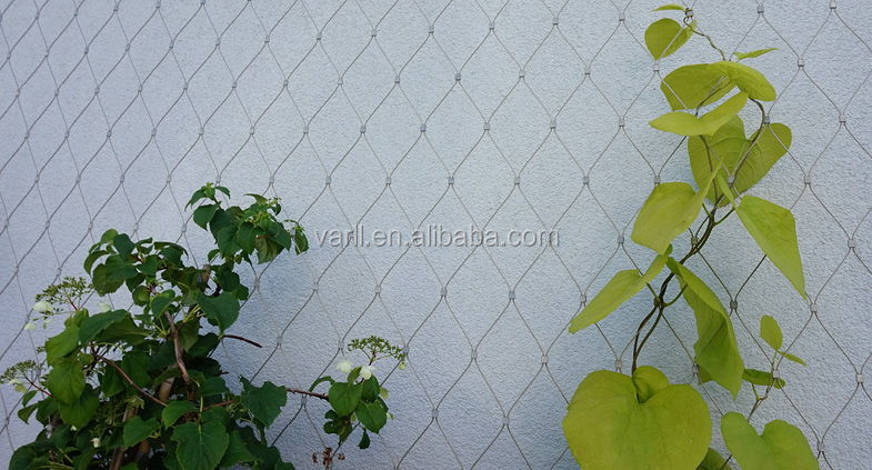 World Class Quality Flexible Architectural Stainless Steel Cable mesh Wire Rope Protection Mesh