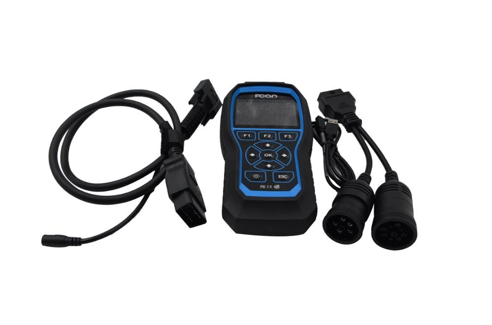 FCAR F506 diagnostic code reader automotive scanner for universal cars diesel vehicles bus truck heavy duty