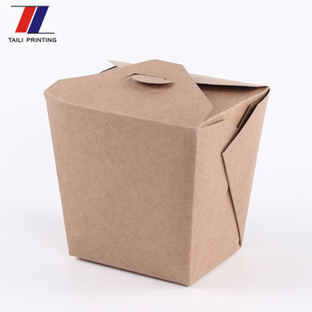 Customized Biodegradable Custom Food Packaging Pasta Box Disposable Fast  Food Packaging Box - Buy Biodegradable Custom Food Packaging Pasta