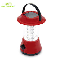 Portable 36 pcs 5730 led SMD MP3 solar rechargeable lantern with lithium Battery