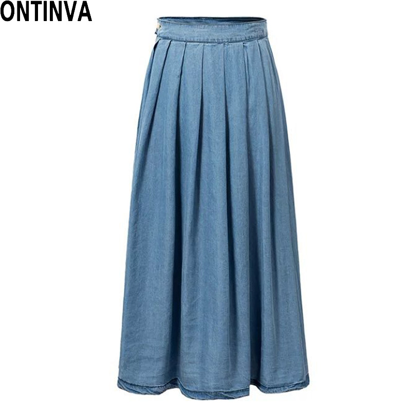 Find and save ideas about Jean skirts on Pinterest. | See more ideas about Jean skirt, Denim skirt and Denim skirt outfits.