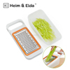 Multi Function Fruit & Vegetable Grater 4pcs Manual Cheese Grater Set with Storage Box