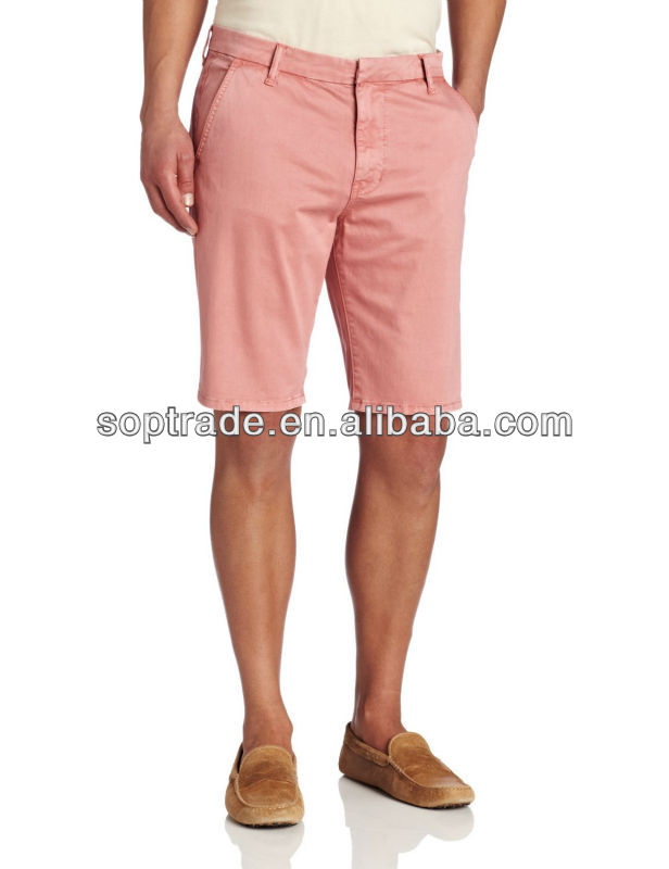 Surplus stock for sale cheap colored short jeans for men