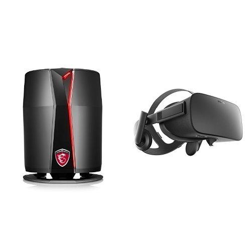 MSI VR Ready Vortex G65VR SLI-091 Compact Powerhouse Gaming Desktop & Oculus Rift - Virtual Reality Headset Bundle