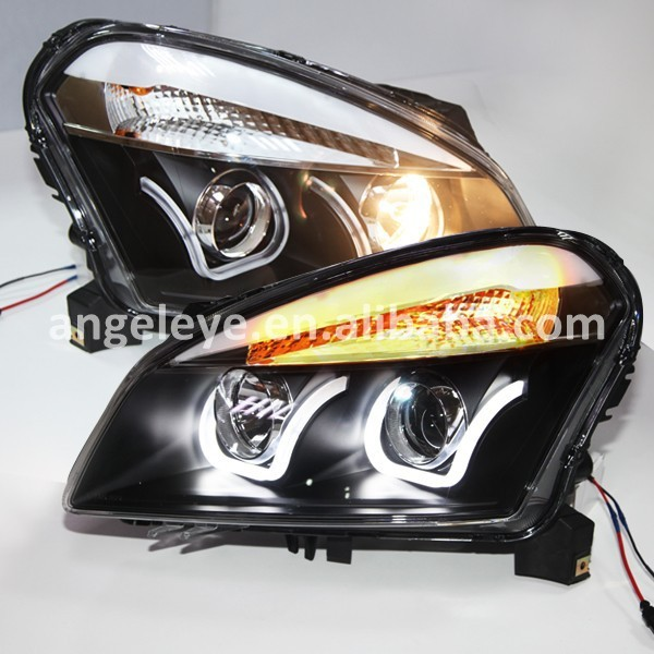 2007-2013 Year for Nissan Qashqai for Dualis LED U Style Front Light LD