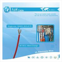 insulated copper wire/copper welding wire/insulated copper wire 450/750V price