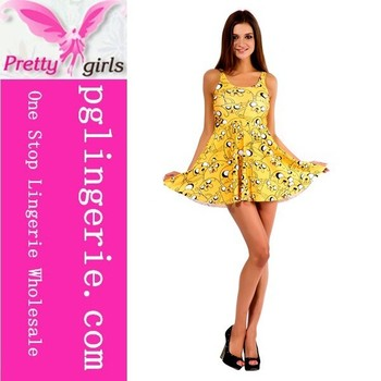 Yellow skater dress trend cheap skater dresses online skater dresses on sale