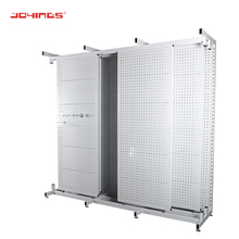 Aangepaste Retail Winkel Metalen Pegboard <span class=keywords><strong>Tapijt</strong></span> <span class=keywords><strong>Display</strong></span> <span class=keywords><strong>Tapijt</strong></span> <span class=keywords><strong>Display</strong></span> Stand Rack