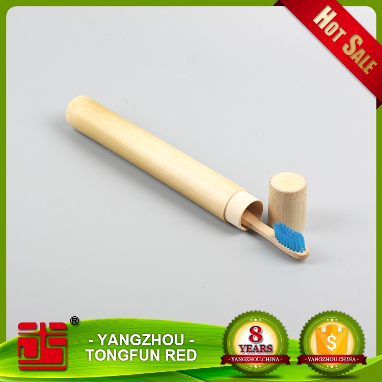 Wholesale toothbrush holder 100% Biodegradable <strong>bamboo</strong> / wooden toothbrush