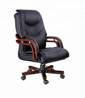Top quality PU Leather Cover european specification upholstered manager boss chair