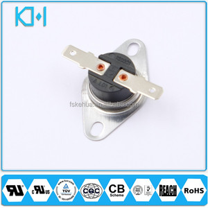 KSD301 Thermostat NC NO 250V 16A Bimetal Thermostat Regulator 125 Celsius Appliance Spare Parts Switches UL Certificate