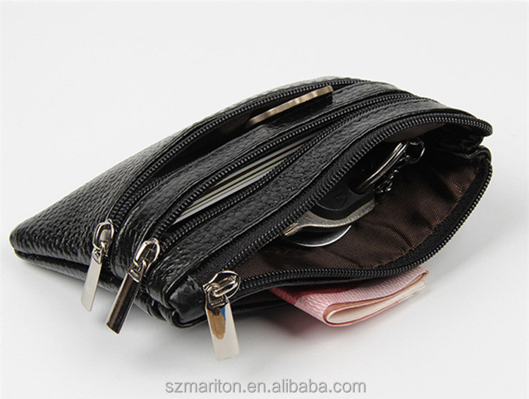 Many Slots Wallets ID Credit Card Business Holder Leather Purse Clutch Pockets
