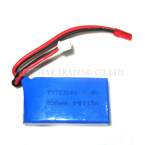 WL RC Helicopter Spare Parts V912 V262 Battery 7.4V 850 mAh 912-21