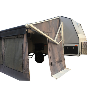 polyester waterproof caravan trailer tent wall kit fit to 13x8ft awning