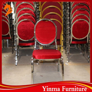 2015 made in China leather chairs restaurant