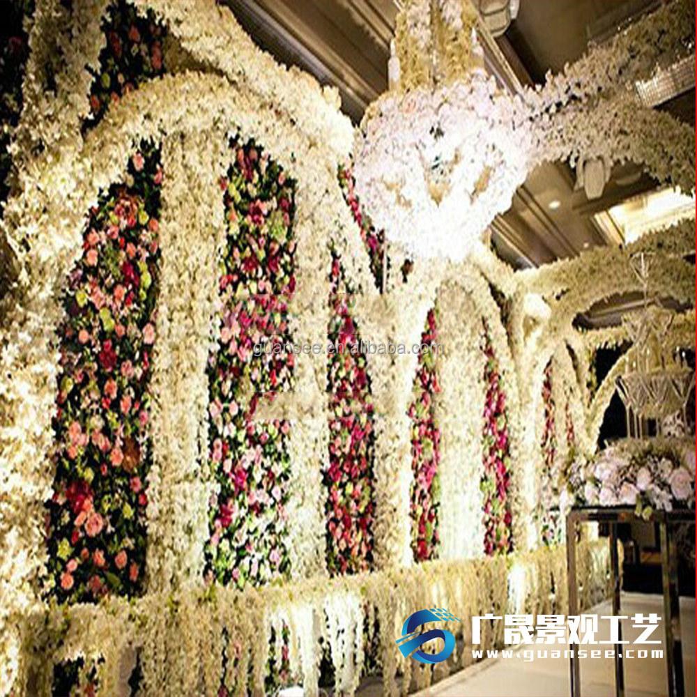 Flower Wall Silk Flower Wall Decoration Silk Flower Wall Decoration Suppliers