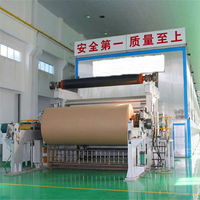 High Quality Machines to Make Kraft Paper 1575mm Kraft/Corrugated Paper Machine Making Production Line Price