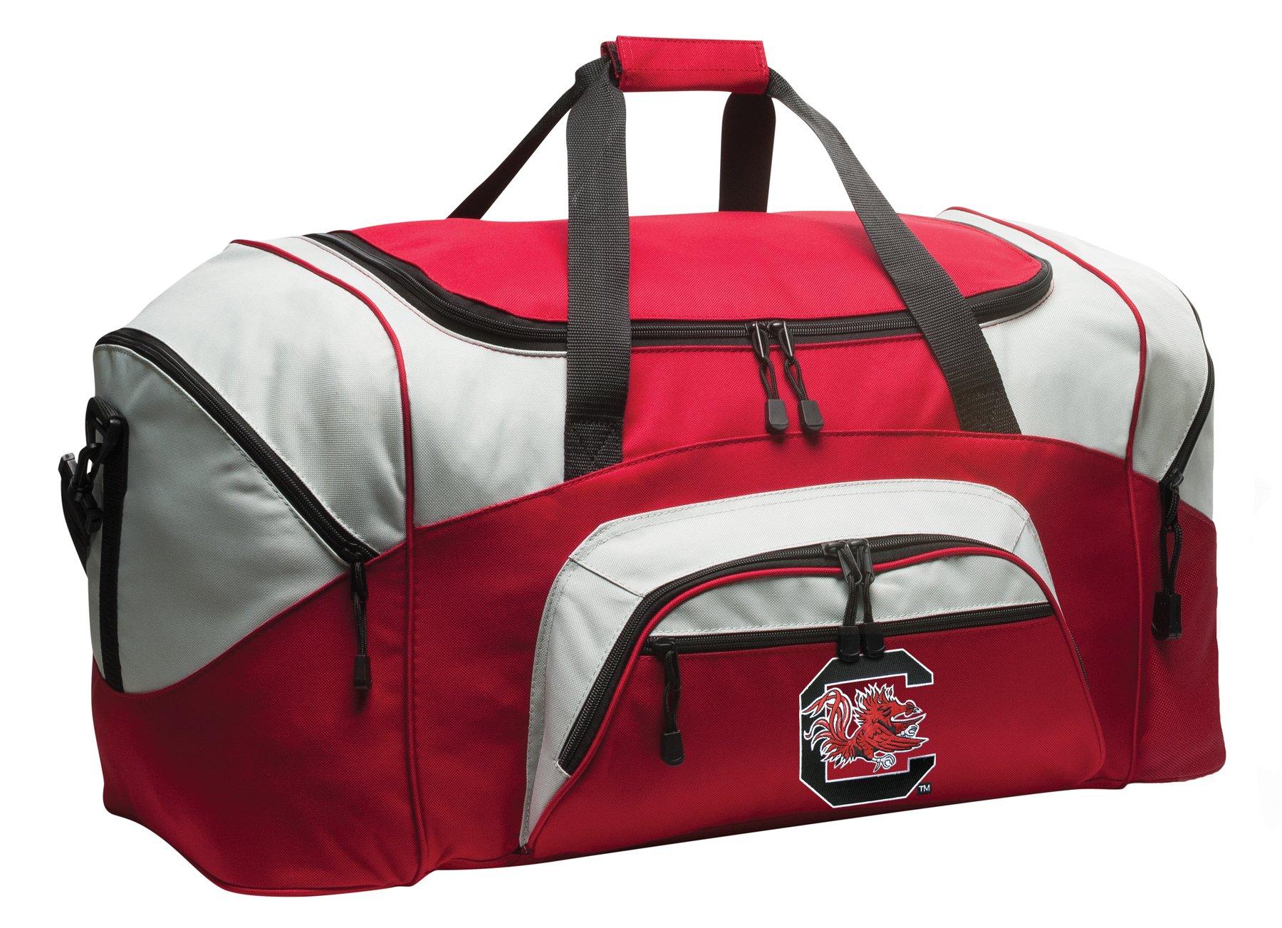 DELUXE South Carolina Gamecocks Duffel Bag University of South Carolina Gym Bag