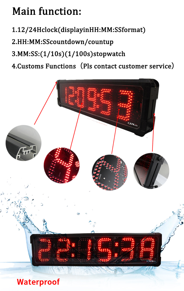 Marathon Electronic Race Stopwatch Runners Edge Race Timing Clock