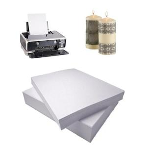 Clear Inkjet Waterslide Decal Paper for Candle