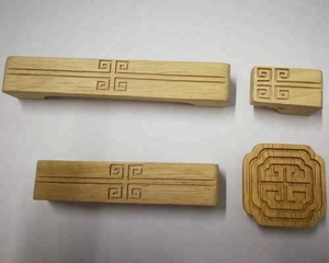 chinese classical solid wooden birch beech rubber wood cabinet drawers pulls handles and knobs