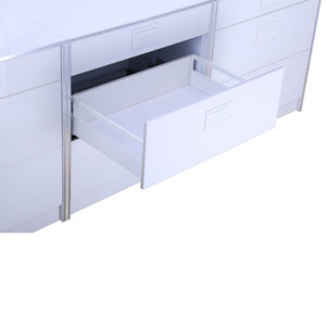LEGRABOX drawer box slim double wall drawer slide Enhanced type with full extension undermount slide