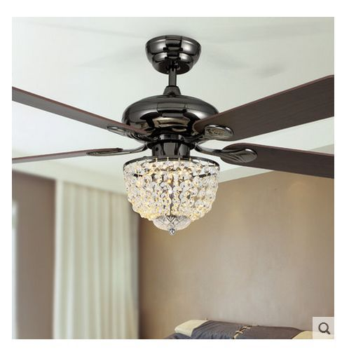 Ceiling Fan With Chandelier Light: Home Lighting, Ceiling Fan