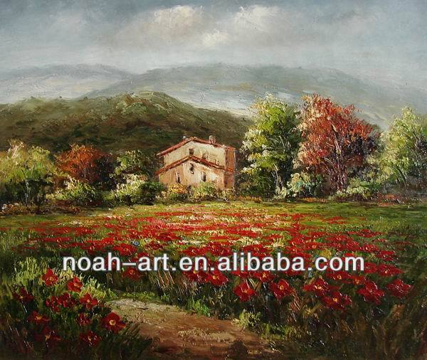 Landscape Scenery Painting of Italy