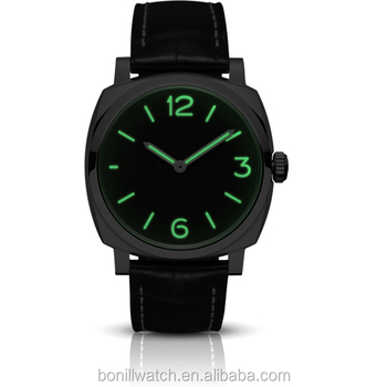 Big Square Face Watches Made In China Geneva With Genuine Leather