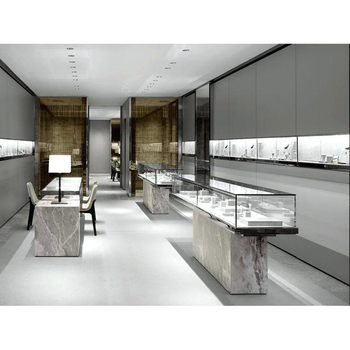 Newest design Jewelry Retail Shop Display Design Layout