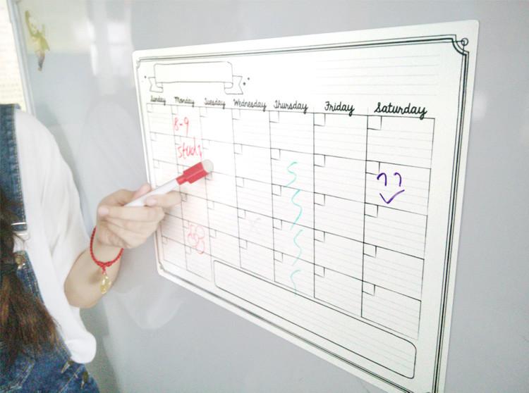 Kühlschrank Kalender : Neue design kalender kühlschrank magnetische kalender
