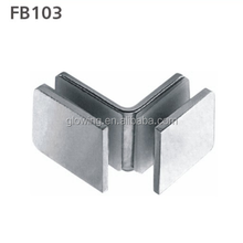 FB103 욕실 stainless steel 304 (gorilla glass clamp 90 degree (gorilla glass) clip
