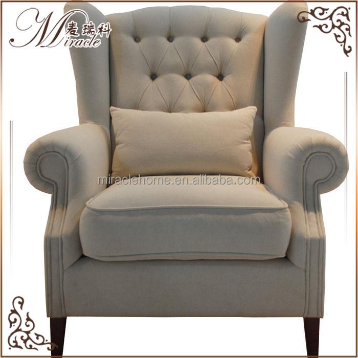royal silla trono tela de tapicera sof de la tela de polister