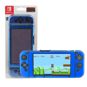 Made-in-China Dark Blue Aluminum Shell Case for Nintendo Switch Protective Cover Case
