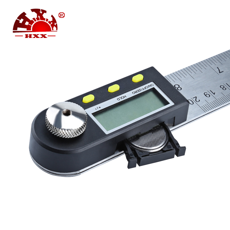 Electronic Digital Angle Finder Meter Protractor Goniometer 360 degree  ruler